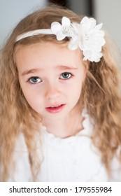 Lovely beautiful blond girl