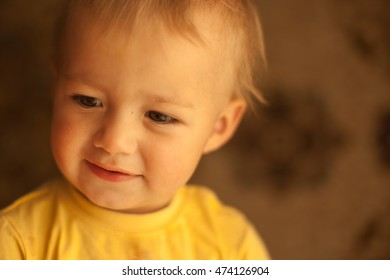 Lovely and beautiful face of the baby
