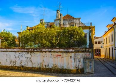 Lovely city of Tomar. Santarem District. Portugal.