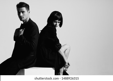 Lovely couple passion luxury lifestyle model