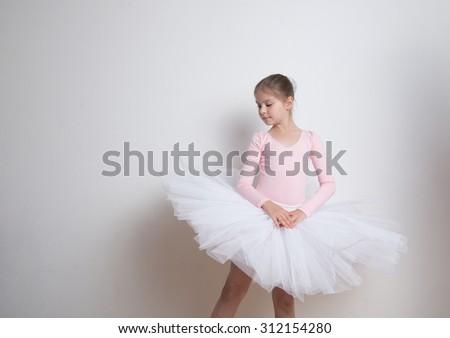 f98e99758 Lovely Little Pink Ballerina Tutu Skirt Stock Photo (Edit Now ...