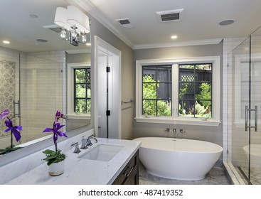 Lovely Master Bathroom