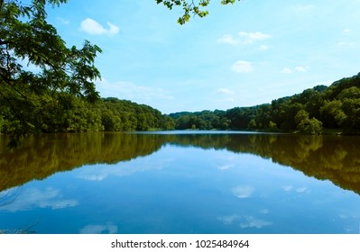 Lovely photo of a Lake on a Clear Blue Day