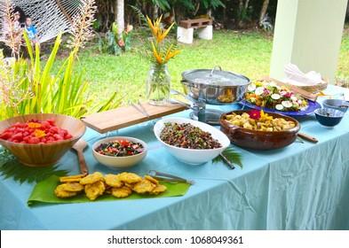 Lovely Puerto Rican food, Food Spread, Gourmet Meals, Healthy Lifestyle, Tostones, Pollo, Salad, Farm Fresh Food