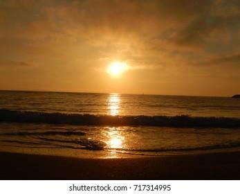 Lovely romanian sunrise