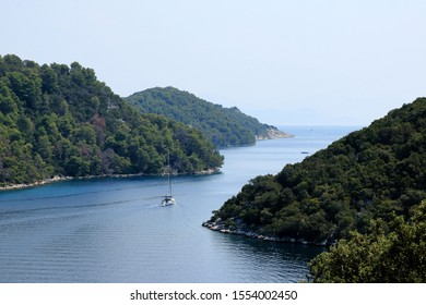 lovely sea view in Polace, island Mljet, Croatia
