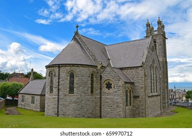 Lovely small church in Howth Village, Howth, Dublin. Exploring and enjoying Ireland. Wallpaper and Background