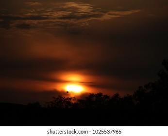 lovely Sunset evening
