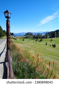 A lovely view of the fields in the Circuito Chico, Bariloche, Argentina.