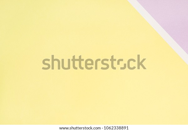 lovely violet and yellow paper background .