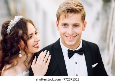 Lovely wedding couple