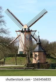 lovely windmill in Bokrijk, Belgium