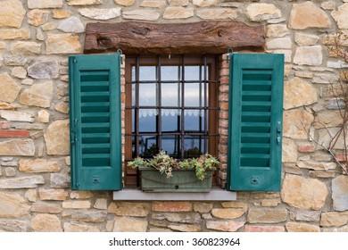 A lovely window in a rural village