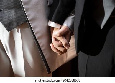 花婿と花婿の間の恋人のつながり