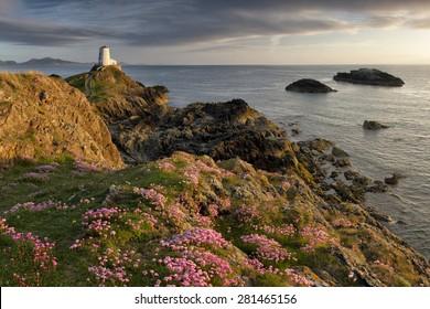 Lover's Island Lighthouse, Ynys Llanddwyn, Anglesey
