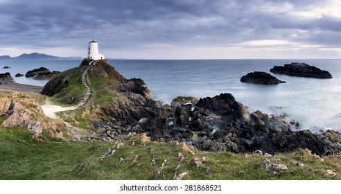 Lovers Island Panorama, Ynys Llanddwyn, Anglesey