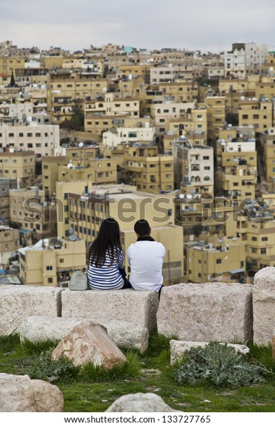 Lovers in middle east