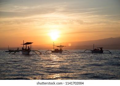 Lovina Beach, Singaraja, Bali, Indonesia. 17 september 2014