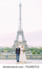 Loving Couple in Paris.