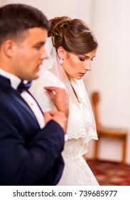 Loving coupleto be baptized in church