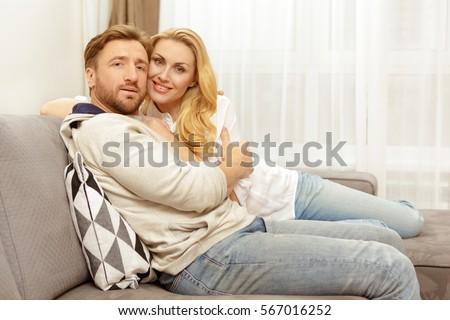 Loving Husband Wife Beautiful Happy Mature Stock Photo Edit Now