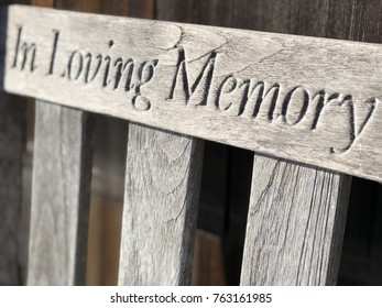 Loving memories on a bench is becoming a tradition