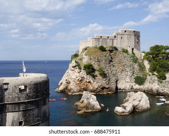 Lovrijenac Castle in Dubrovnik