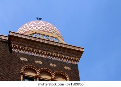 Low angle of a building in Springfield, MO