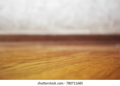 Low angle floor bokeh background