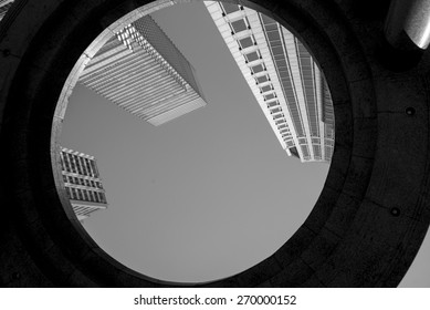 Low angle view of buildings, Midtown, Manhattan, New York City, New York State, USA