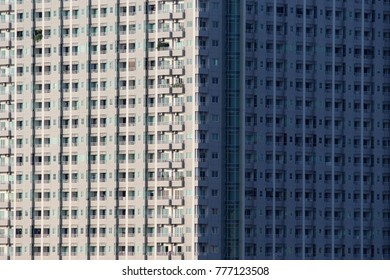 low angle view of skyscrapers, Bottom view of building.