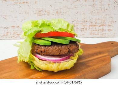low carb diet lettuce buns diet burger