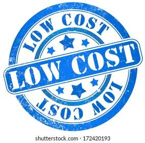 low cost grunge stamp, in english language