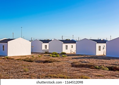 Low cost RDP housing, South Africa