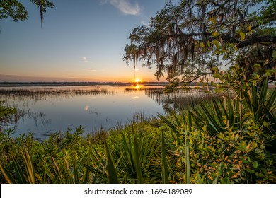 Low Country Sunset in Beaufort SC