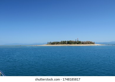 low island on the great barrier reef in Queensland, Australia