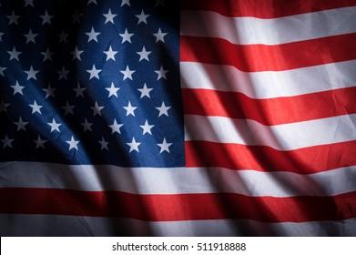 Low key USA flag,background