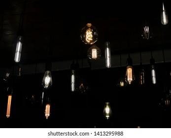 Low light at the bar