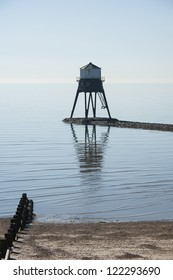 Low Lighthouse at Dovercourt, Essex, UK