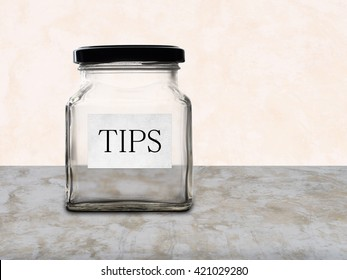 Low paid workers etc. Empty tips jar, service industry.