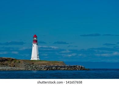Low Point Lighthouse, Nova Scotia.