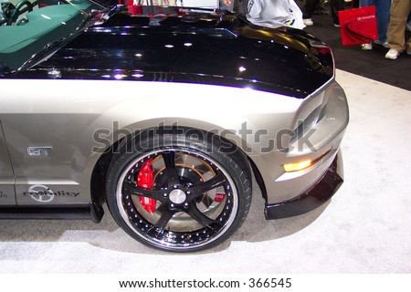 Low Profile Rims Car Show Stock Photo Edit Now Shutterstock - Show rims on car before you buy