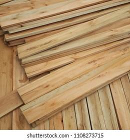 Low quality eucalyptus lumber wood