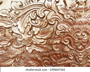 Low relief cement Chinese style handcraft of flowers
