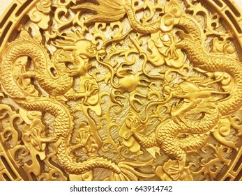 Low relief cement Chinese style handcraft