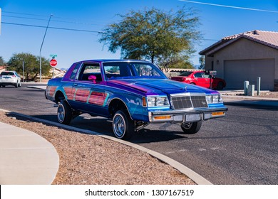LOW RIDER IN ARIZONA TUSCON AZ,USA 1/30/2018