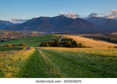 Low Tatras mountain range, Liptov, Slovakia