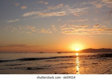 Low Tide California Coast