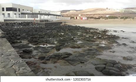 Low tide, Fuerteventura Canarias