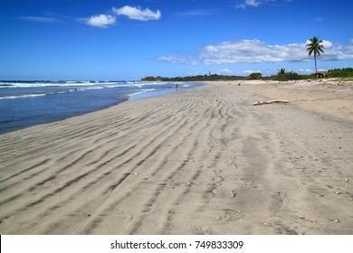Low tide at Nosara beach, Costa Rica